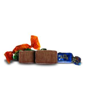Frutas surtidas al chocolate La Aurora